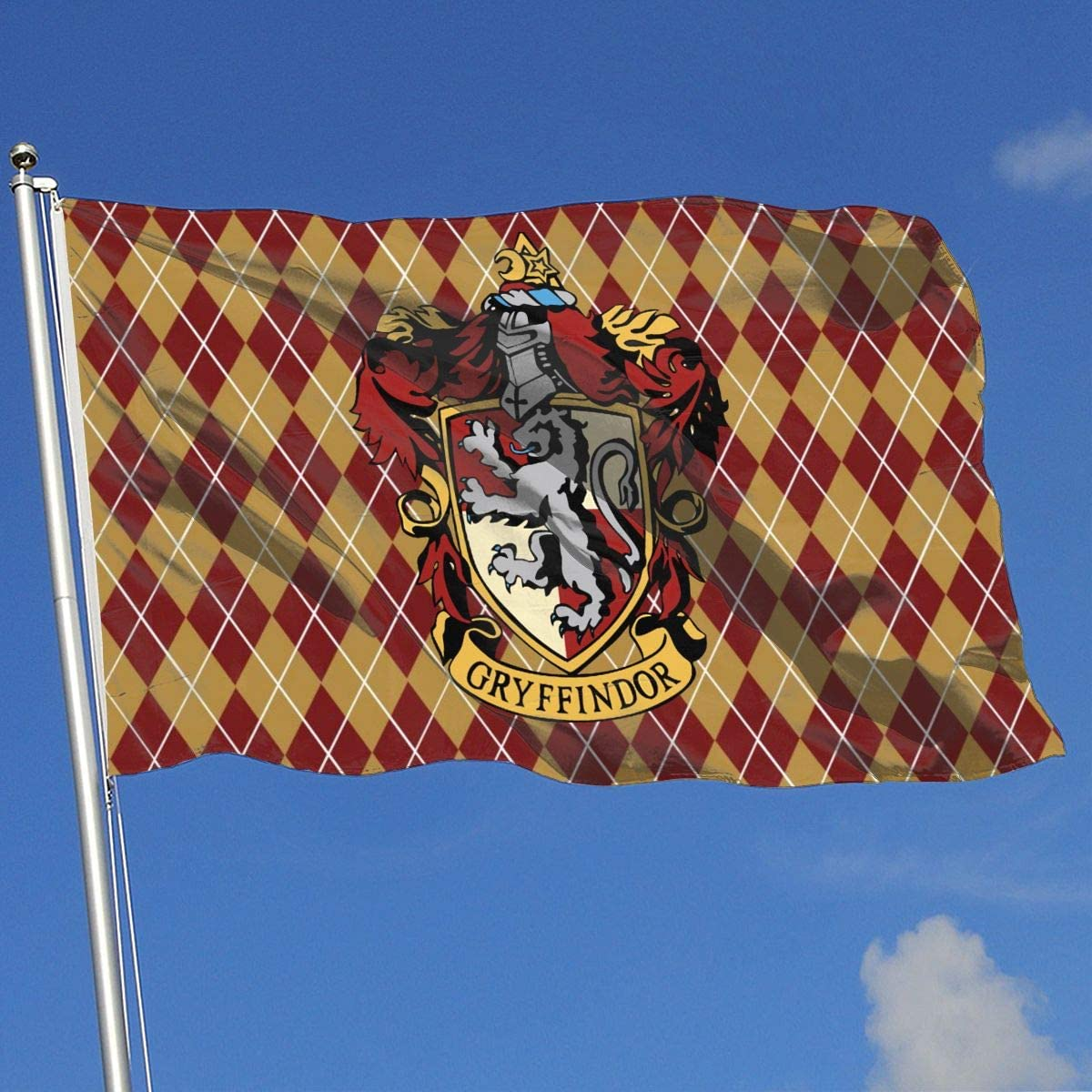Juhucc Gryffin-dor Flag Home Flag Banner - American Flag Lndoors Outdoors Garden Flag 3x5 Feet