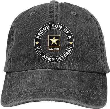 Baseball cap in black us army adjustable adjustable