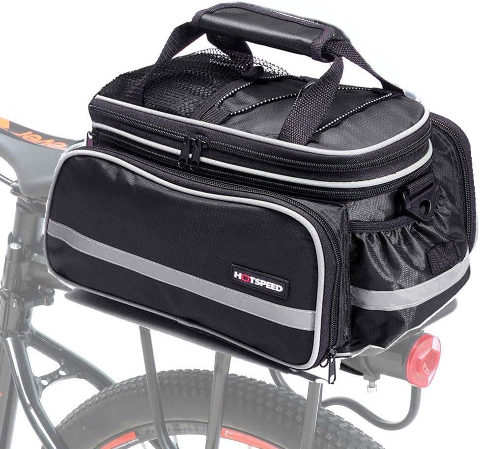 Selighting Bolsa Alforja Trasera Bicicleta Impermeable Bolso de ...