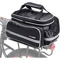 Selighting Bolsa Alforja Trasera Bicicleta Bolsa de Equipaje Impermeable 10-25L