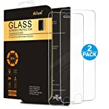 iPhone 6 plus Screen Protector,iPhone 6s plus Screen Protector,[2 PACKs]by Ailun,2.5D Edge Tempered Glass,Bubble Free,Anti-Fingerprint,Oil Stain&Scratch Coating,Case Friendly,Siania Retail Package