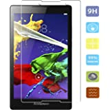 KTtwo Lenovo Tab2 A8 / TAB3 A8 Screen Protector Glass, 9H Hardness Tempered Glass Anti-Scratch Bubble-Free Screen Protector for Lenovo Tab2 A8-50 / Tab 3 A8 8-Inch Tablet