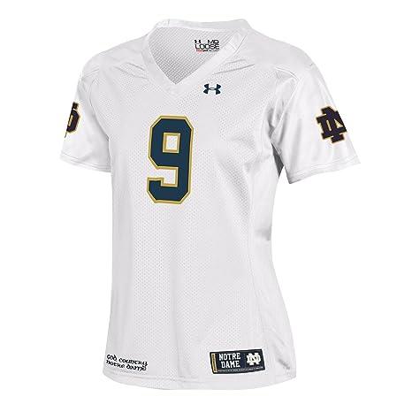 6147733bc89 Buy NCAA Notre Dame Fighting Irish 9 Women s Replica Football Jersey ...