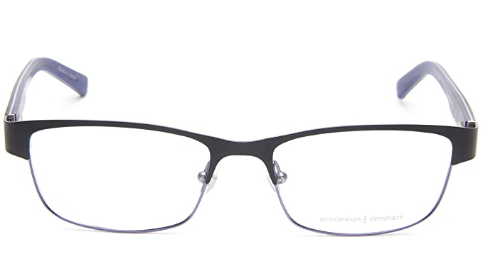 NEW PRODESIGN DENMARK 1267 c.6021 BLACK EYEGLASSES FRAME 53-17-135 ...