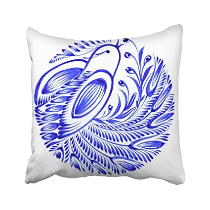 Emvency Fundas De Almohada Decorativas Con Diseño De Pájaros