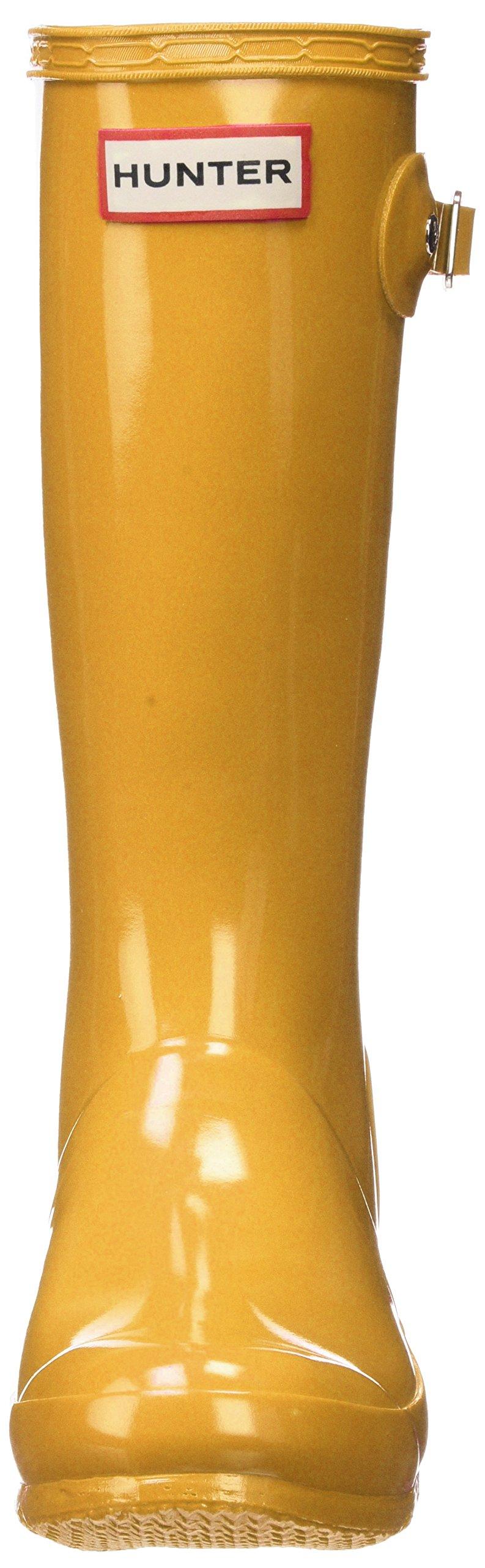Hunter Kids' Original Gloss Boot, 34, Yellow by Hunter Kids (Image #4)