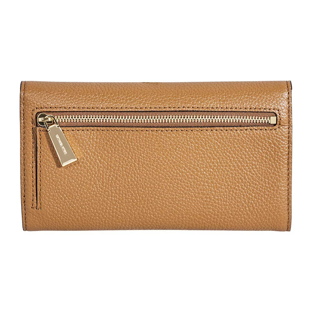 cae41c2e0dab52 Amazon.com: Michael Kors Mercer Leather Wallet- Acorn: Clothing