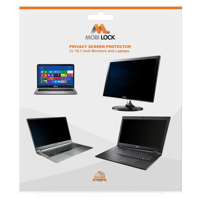 Mobiロックプライバシースクリーンフィルタと傷防止プロテクターfor 15.1インチ画面サイズノートパソコン/コンピュータ表示(パックof 1 )   B01JP0CGVG