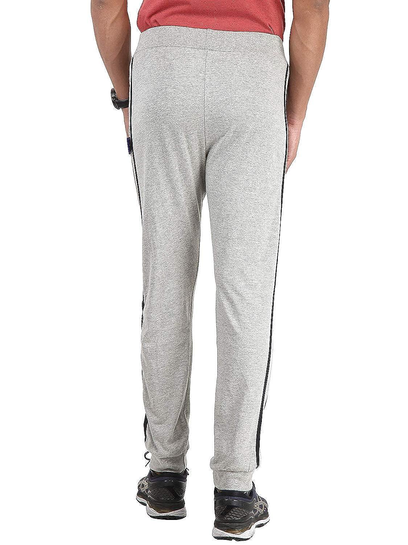 f524f06f8ba8b Zara Enterprise Men's Stripped Grey Lower Trackpants Gym Wear Night Wear  Lounge Wear: Amazon.in: Clothing & Accessories