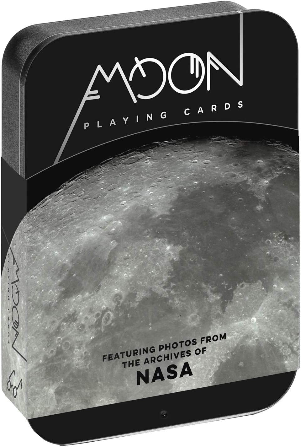 1452176841 Moon Playing Cards: Featuring Photos from The Archives of NASA (Premium Playing Cards, Lunar Playing Cards for Kids) 71EQuNYr2hL