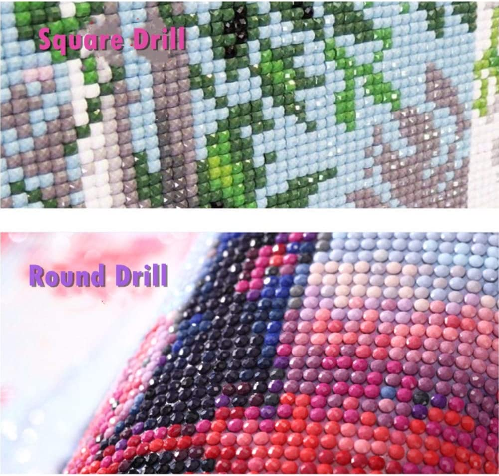 Baseball, 25x30cm, Round Drill Full Drill 5d Diamond Painting Kits Cross Stitch Craft Kit DIY Kits for Kids Adults Paint by Number Kits