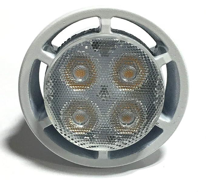 4 Pack Philips LED MR16 Dimmable Flood & Landscape Light Bulb: 450-Lumens 3000K 6.4-Watt (35-Watt Equivalent) GU5.3 Bi-Pin Base Bright White Light ...