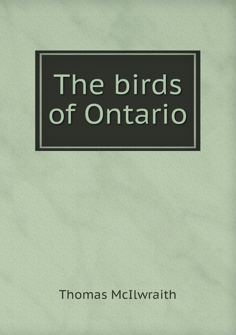 The birds of Ontario PDF