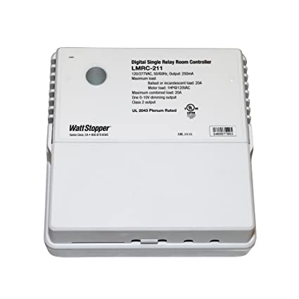 Amazon.com : Wattstopper LMRC-211 Digital Single Relay Room ... on