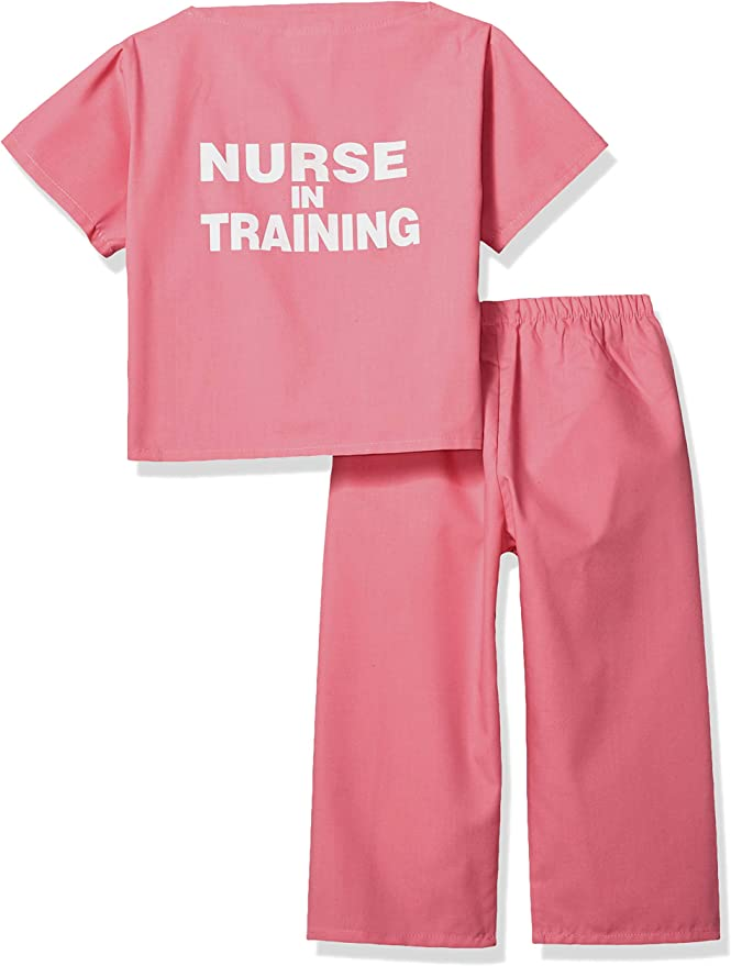 Scoots Kids Scrubs Doctor in Training Embroidery