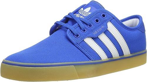 adidas Originals Seeley, Chaussures de skate homme Bleu