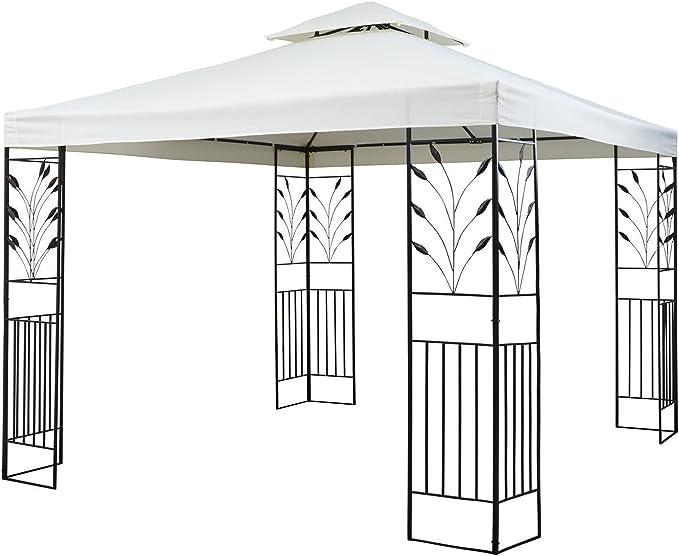 blumfeldt Odeon Beige Pavillon Carpa para Fiestas y jardín (3x3m ...