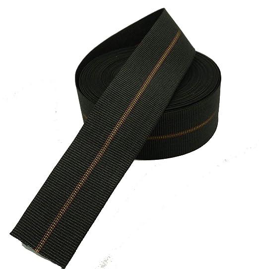 Cincha dura para tapizar de 80 mm, calidad super extra para asientos, 12 metros.