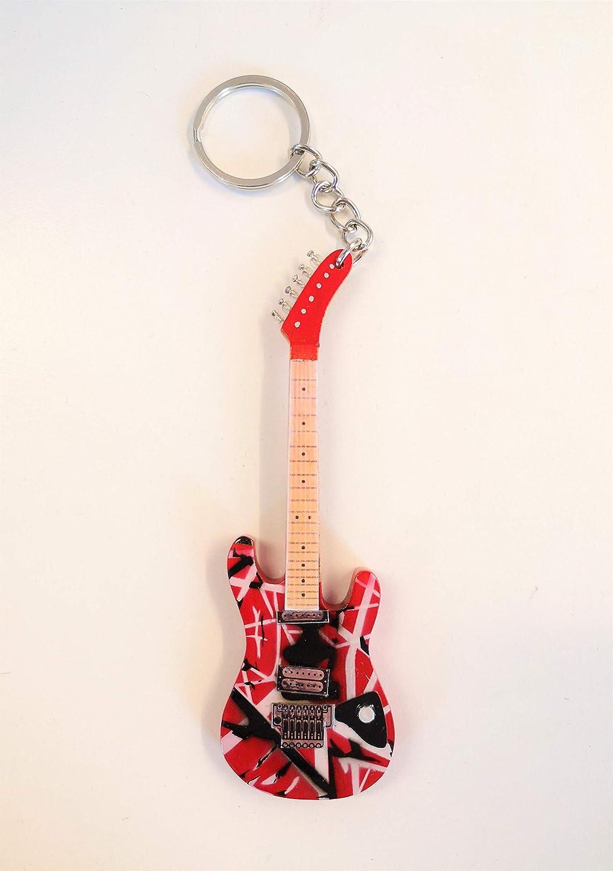 Axman Eddie Van Halen: Kramer 5150 Baretta EVH - Llavero de madera ...
