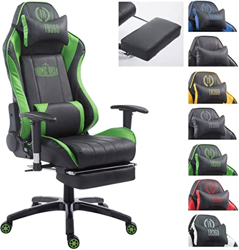 Clp Shift V2 Xl With Racing Office Chair Faux Leather Cover Max Up To 150 Kg Load Capacity Gaming Chair Executive Chair Tarmac Racer With And Without Foot Rest In Assorted Colours