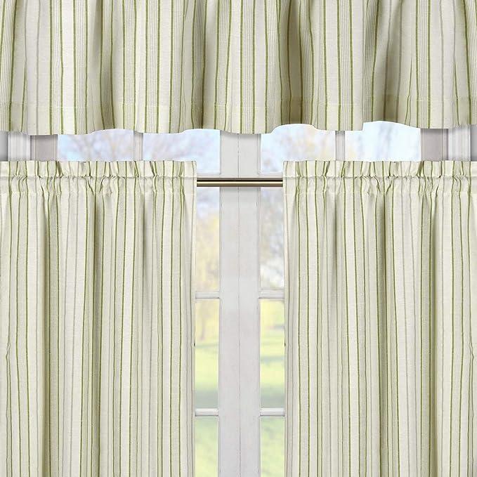 CanvasEcru Cabana Stripe Curtains