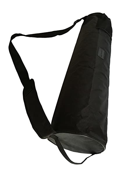 Black Yoga Mat Bag Full Zip Waterproof Yoga Mat Carrying Bag with Adjustable Carrying Strap - Fits Most Pilates, Yoga and Exercise Mats for Men Women