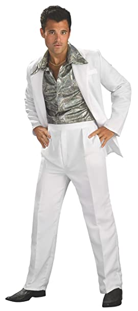 70s Costumes: Disco Costumes, Hippie Outfits Rubies Costume Co. Mens Disco King Costume $28.29 AT vintagedancer.com