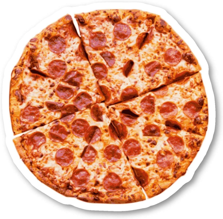 "Pizza Pie Sticker Pizza Stickers - Laptop Stickers - 2.5"" Vinyl Decal - Laptop, Phone, Tablet Vinyl Decal Sticker S183068"