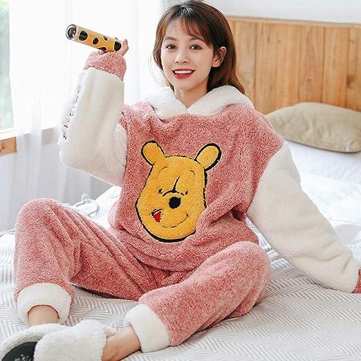 Bayrick Pijamas Mujer Invierno Enteros,Pijama de Franela ...