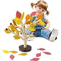 Happy Event Niños Baby Madera Wooden Stitching Creativity
