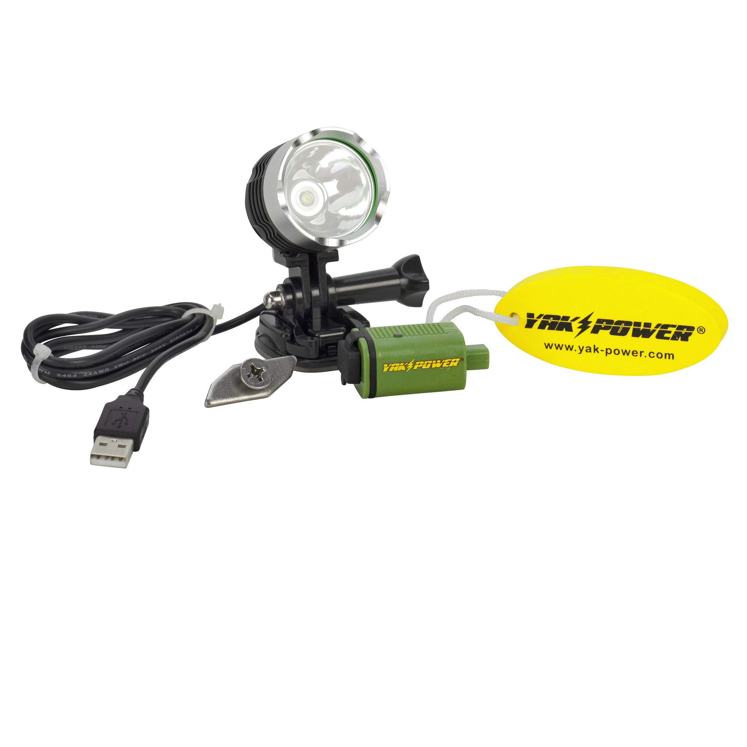 Yak-Power YP-USBSL USB Spot and Safety Light by Yak-Power