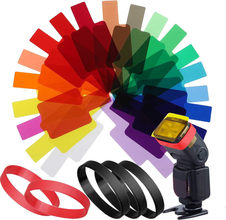 Filtros para Flash de Cámara (20 colores) Universal