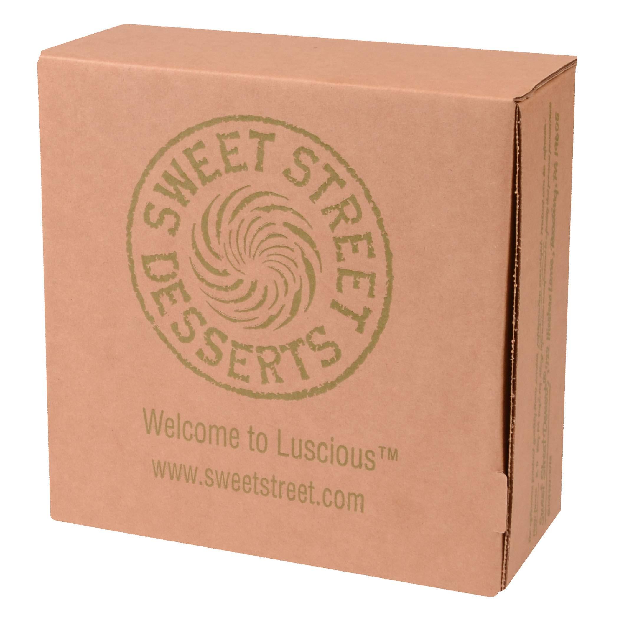 Sweet Street Gluten Free Nutella Iced Chocolate Nut Torta 3.125 lb (14 Slice) Pack of 2