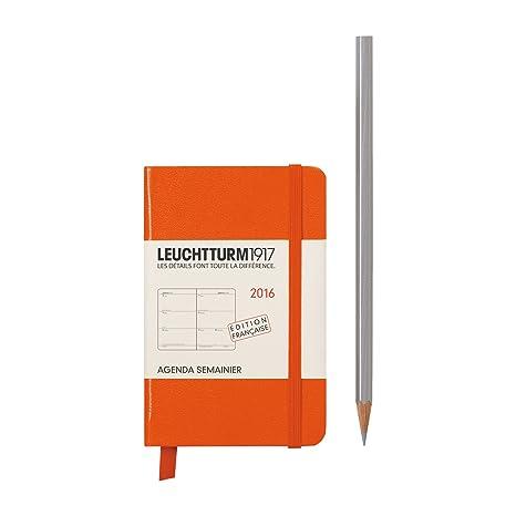 Leuchtturm1917 Semanal - Agenda (Año 2016, 144 páginas, A7 ...