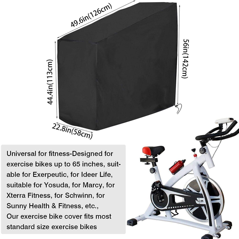 para Bicicleta PW TOOLS Funda para Bicicleta est/ática Resistente de Tela Oxford protecci/ón UV Impermeable Resistente al Polvo para la mayor/ía de Las Bicicletas de hasta 65