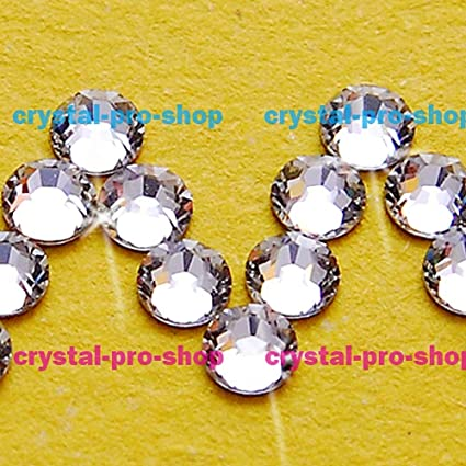 c4fddc82d ASTONISH Swarovski Elements Crystal Clear (001) No Hotfix (ss3 - ss48) (