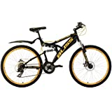 "KS Cycling Bliss VTT tout suspendu 24"" Adolescent TC 38 cm"