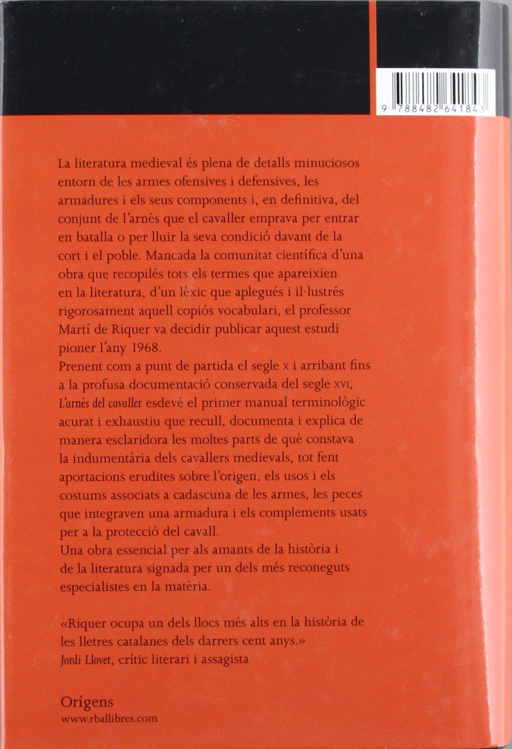 Larnes del cavaller (OTROS LA MAGRANA): Amazon.es: de Riquer ...