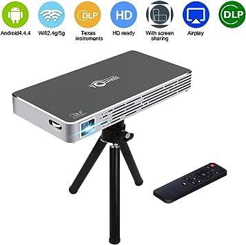 DLP Proyector TouMei Videoproyector, Led MIni Video Proyección ...