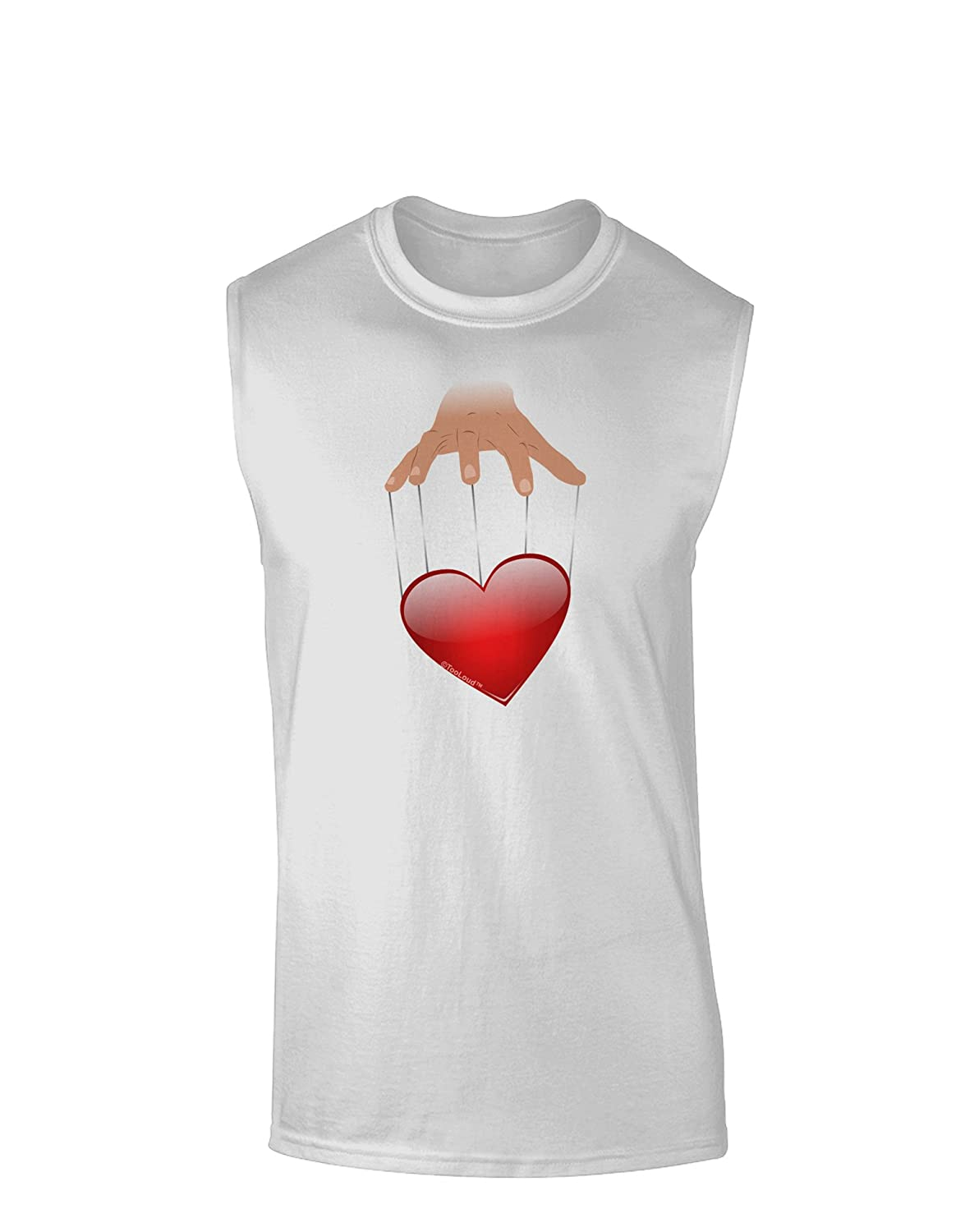 TooLoud Heart on Puppet Strings Muscle Shirt