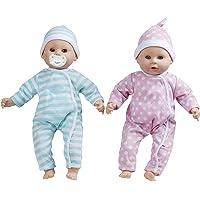"""Melissa & Doug Luke & Lucy Twin 15"""" Dolls"""