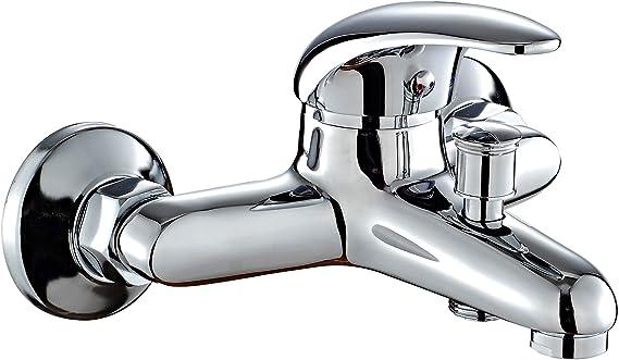DP Grifería SN-0001 Grifo de bañera, color plateado: Amazon.es ...