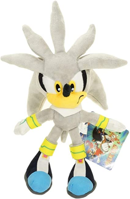 Amazon Com Sonic The Hedgehog Collector 8 Plush Doll Toy Sonic Shadow Chao Silver Sonic Toys Games