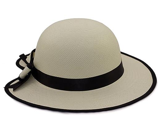 788773316a73f Ladies Heart Sun Panama Hat for women