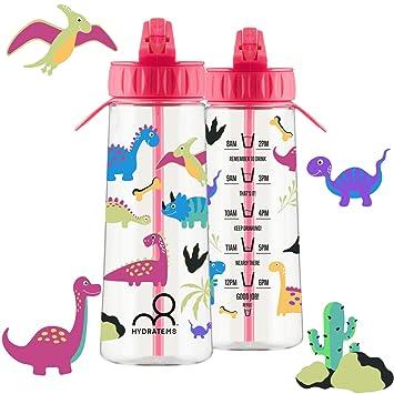 Botella de agua para niños HYDRATEM8, botella que te permite hacer un seguimiento-de