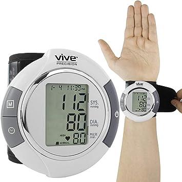 Amazon.com: Monitor de presión arterial de muñeca.: Health ...