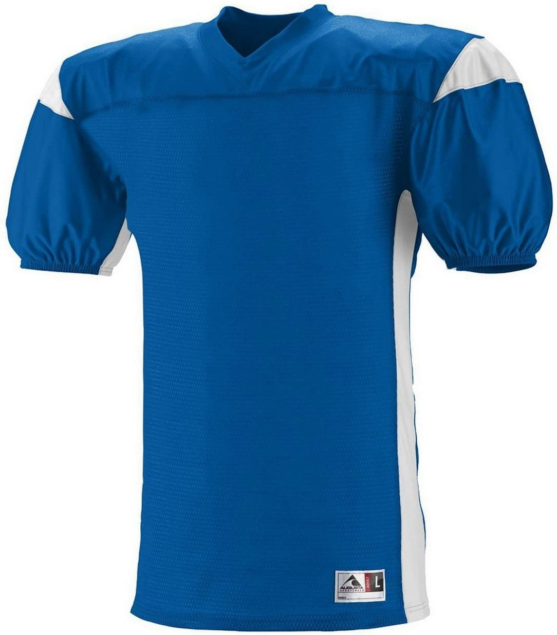 9521 AG YTH DOMINATOR MESH JERSEY ROYAL/ WHITE XL