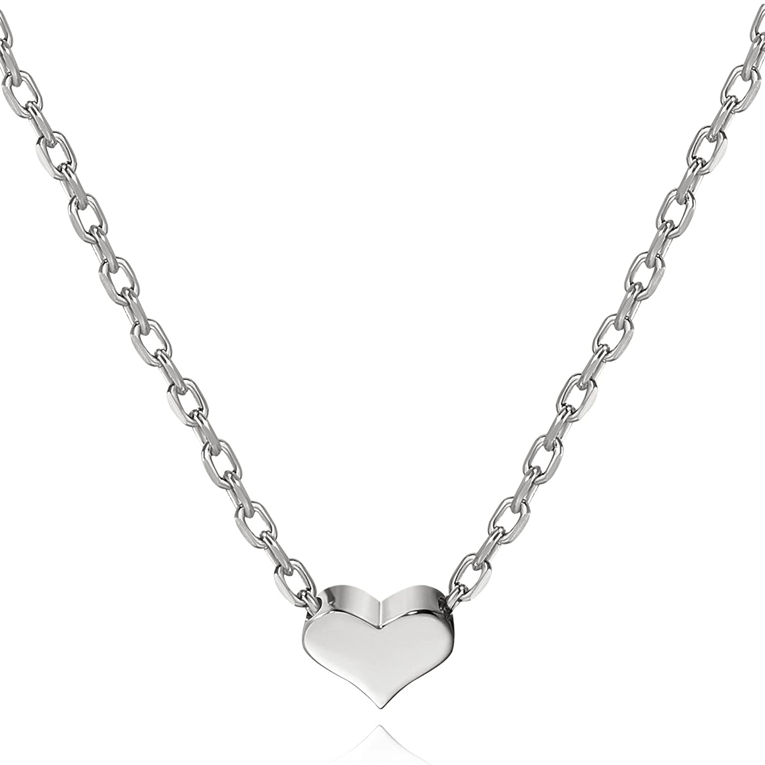 necklace heart avelina jewellery sflheartneck product jewelry silver floating