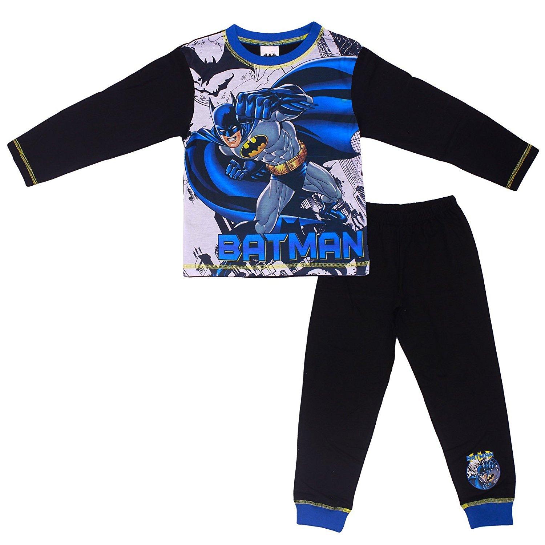 Brand New Kids Boys Nightwear Official Batman Pyjama Set PJs
