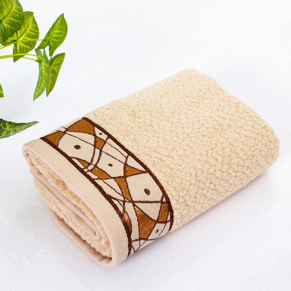 Amazon.com: Lictory 1pcs 33x71cm Mens Fish Pattern Bamboo Fiber Jacquard Face Towel Cotton Hair Bathroom Towels badlaken toalla Toallas Mano coffee: Home & ...